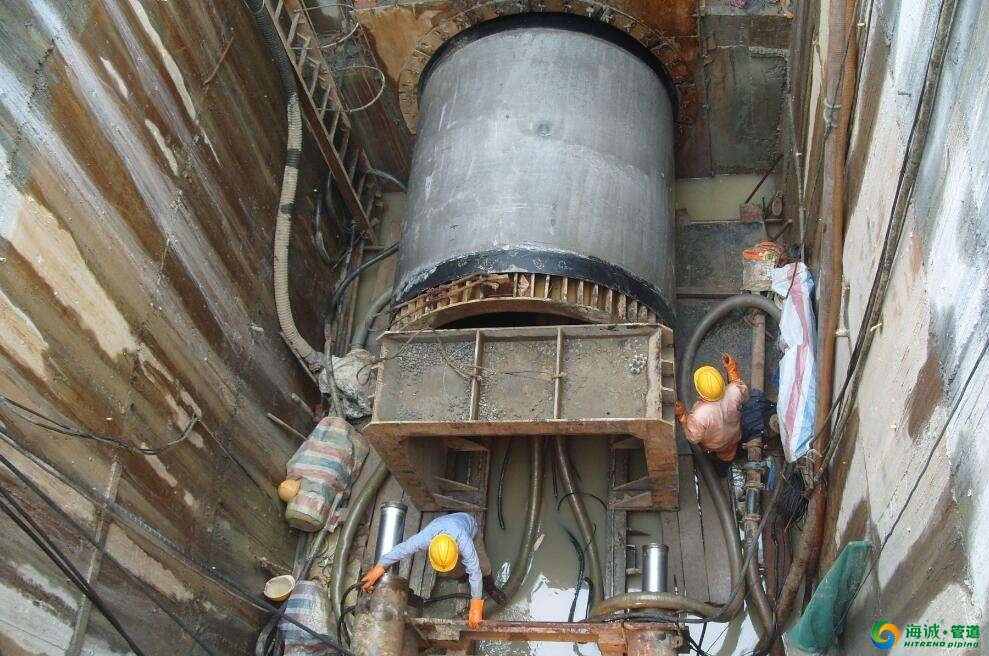 一文汇总市政工程非开挖顶管施工模式 海诚管道