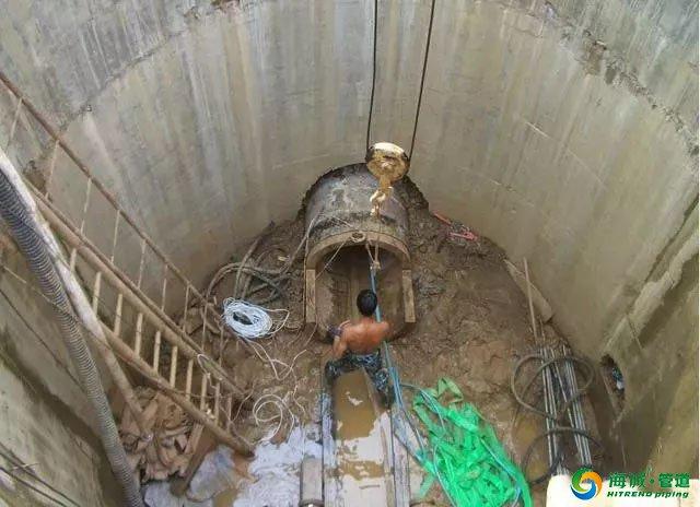 一文汇总市政工程非开挖顶管施工模式 海诚管道|广东克拉管|广东内肋管|广东钢丝网骨架管