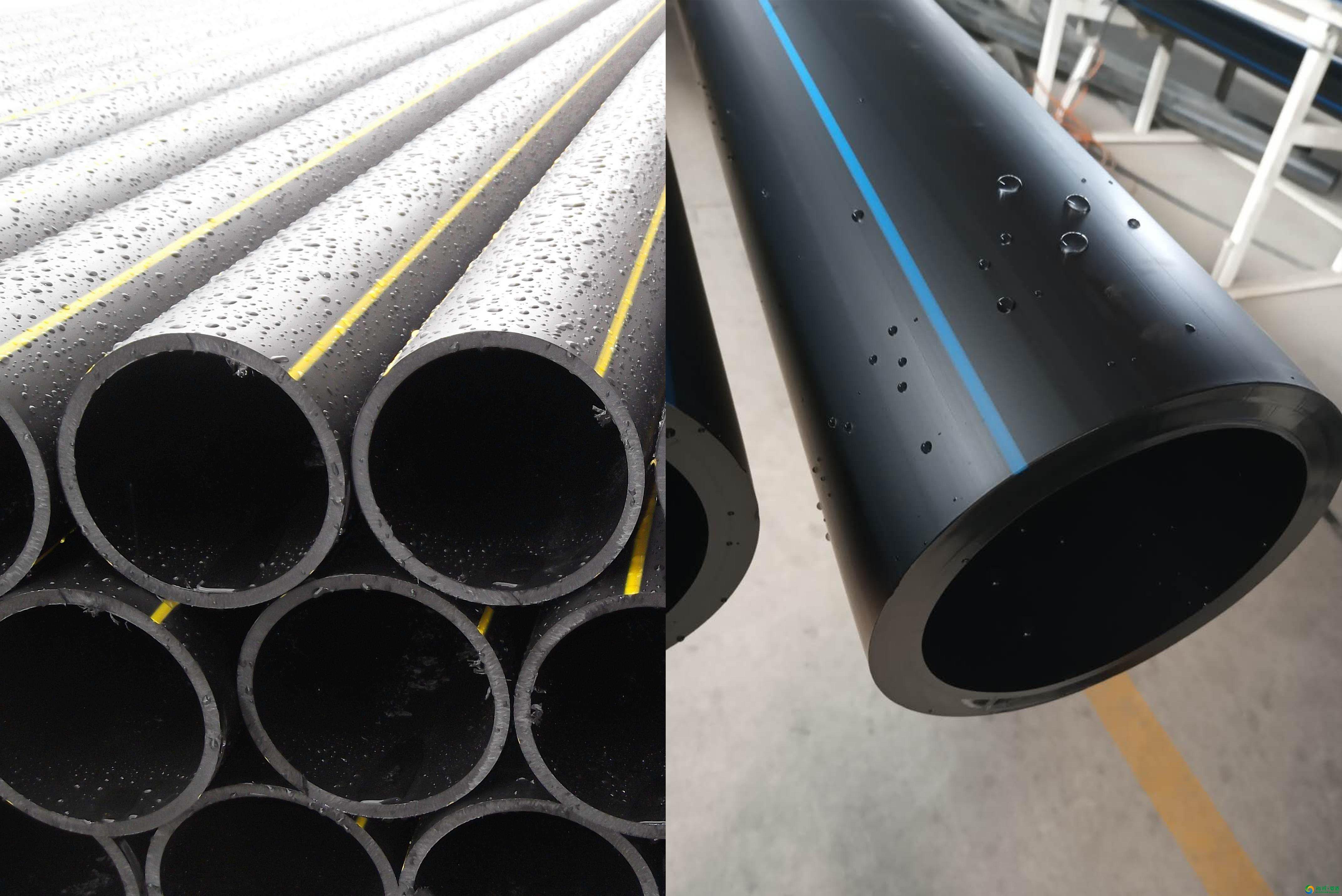 PE给水管与PE燃气管的区别