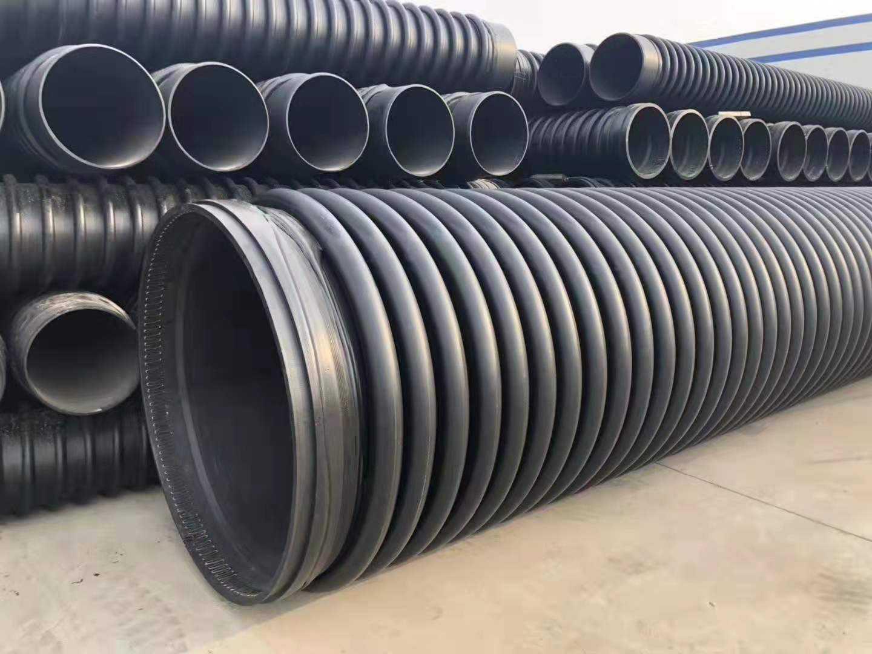 HDPE纏繞結構壁管與客戶實現雙贏|廣東克拉管|廣東內肋管|廣東鋼絲網骨架管